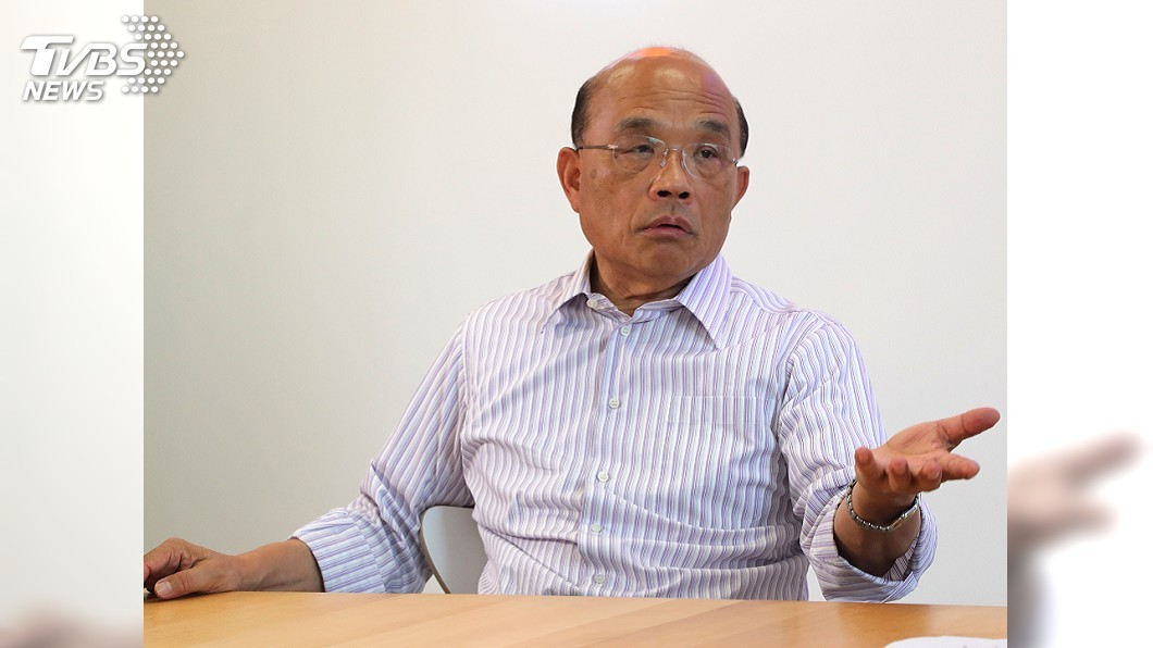 圖/中央社 北北基共同生活圈 蘇貞昌:停班課一致會更好