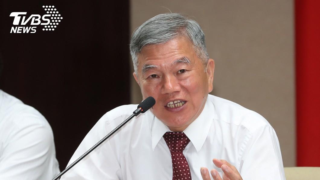 圖/中央社 沈榮津12日將會工商界代表 強調供電無虞