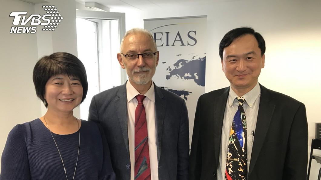圖/中央社 蘇芳慶:台灣科研實力受矚 有機會成歐盟夥伴