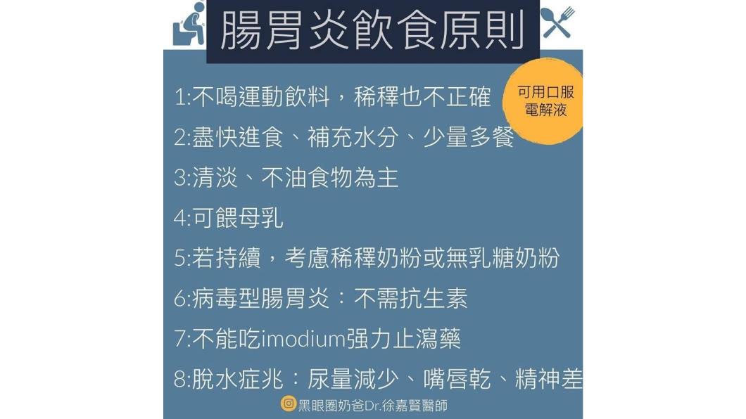 圖/黑眼圈奶爸Dr. 徐嘉賢醫師臉書