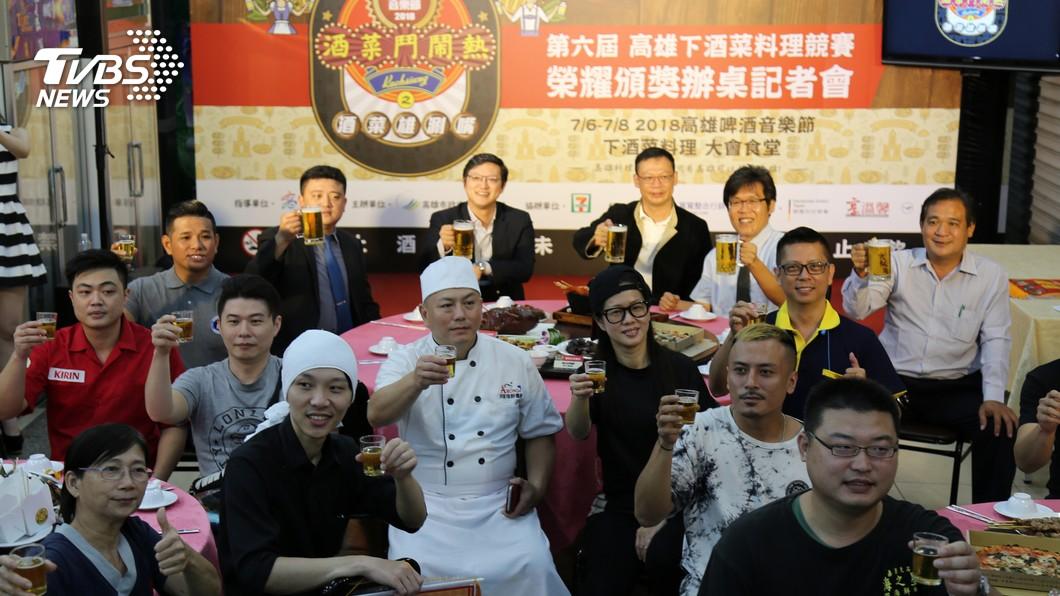 圖/中央社 高雄啤酒節 慕尼黑啤酒來台共襄盛舉