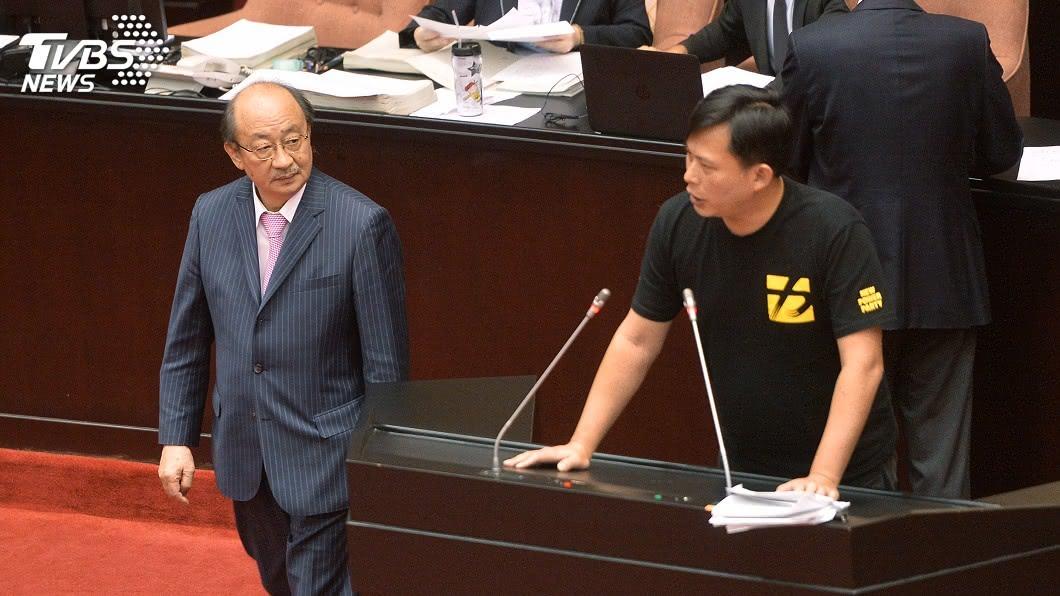 圖/TVBS 從政的初衷? 柯建銘批黃國昌只會揭弊亂放砲