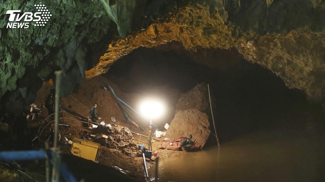 圖/達志影像美聯社 洞穴救援傳溺斃事件 泰國憂救援時機流逝