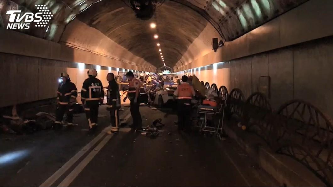 圖/TVBS 他經自強隧道機車秒熄火 車行師傅驚呼:那裡死2人