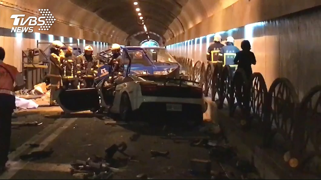 圖/TVBS 經濟來源斷…工人遭富少撞倒下:為何要做危險的事