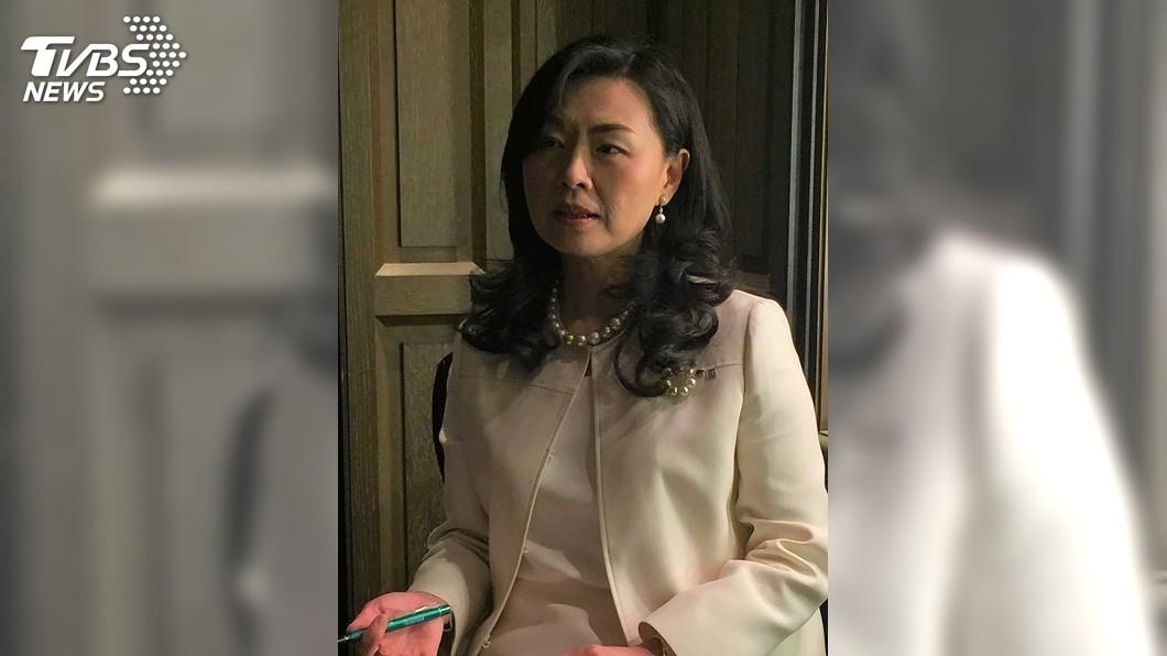 圖/中央社 台灣可以更開放 旅日女總裁吳文繡:不要怕競爭