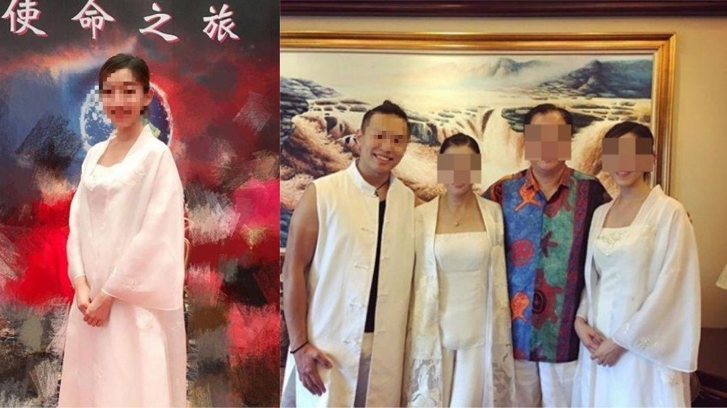 雙方論及婚嫁,劉女都以「爹地、媽咪」稱游男父母。圖/翻攝Instagram 心靈大師之子飆速釀2死 女友曾發文「婆婆是景仰師父」