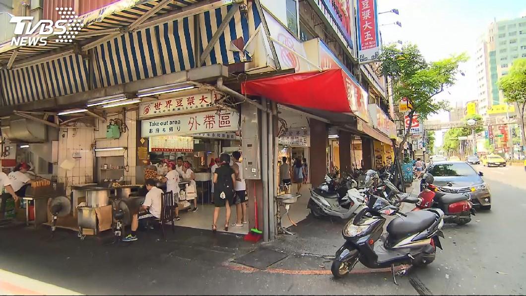 知名的豆漿店也曾被劉女提告求償。圖/TVBS 早餐店殺手雙北亂竄 想撈30萬還告同事作偽證