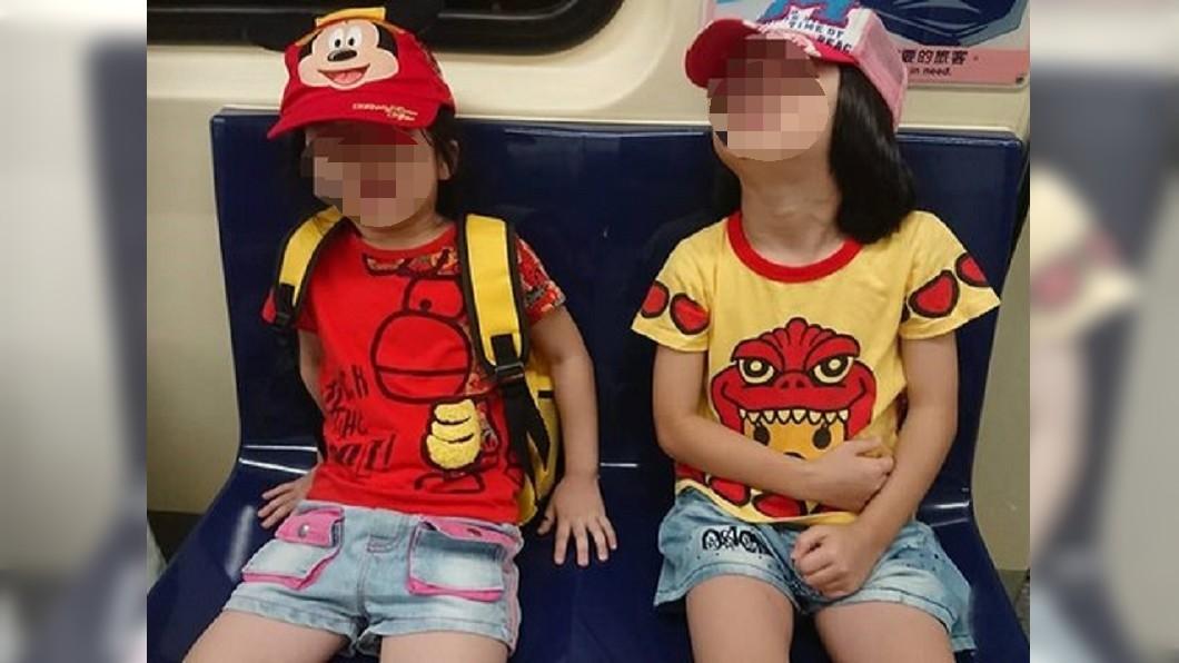 圖/翻攝自爆怨公社 旁邊還有位 捷運女嗆:兒童不能坐博愛座