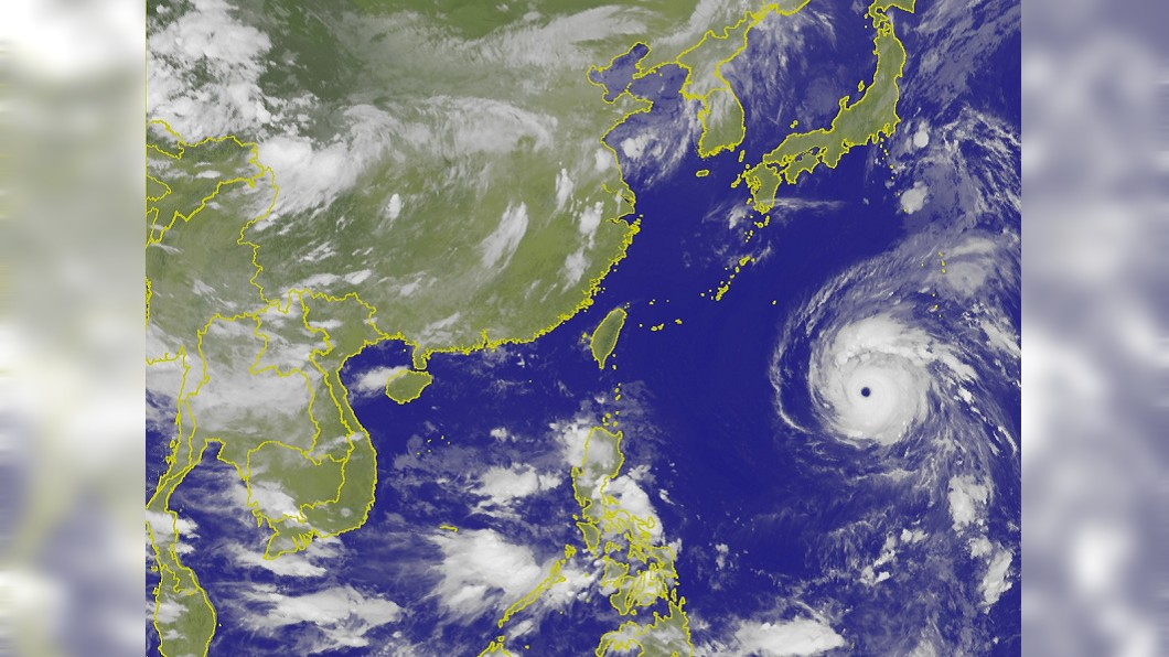 強烈颱風瑪莉亞。圖/翻攝自中央氣象局官網 瑪莉亞路徑似西北颱 氣象局:災害未必等同