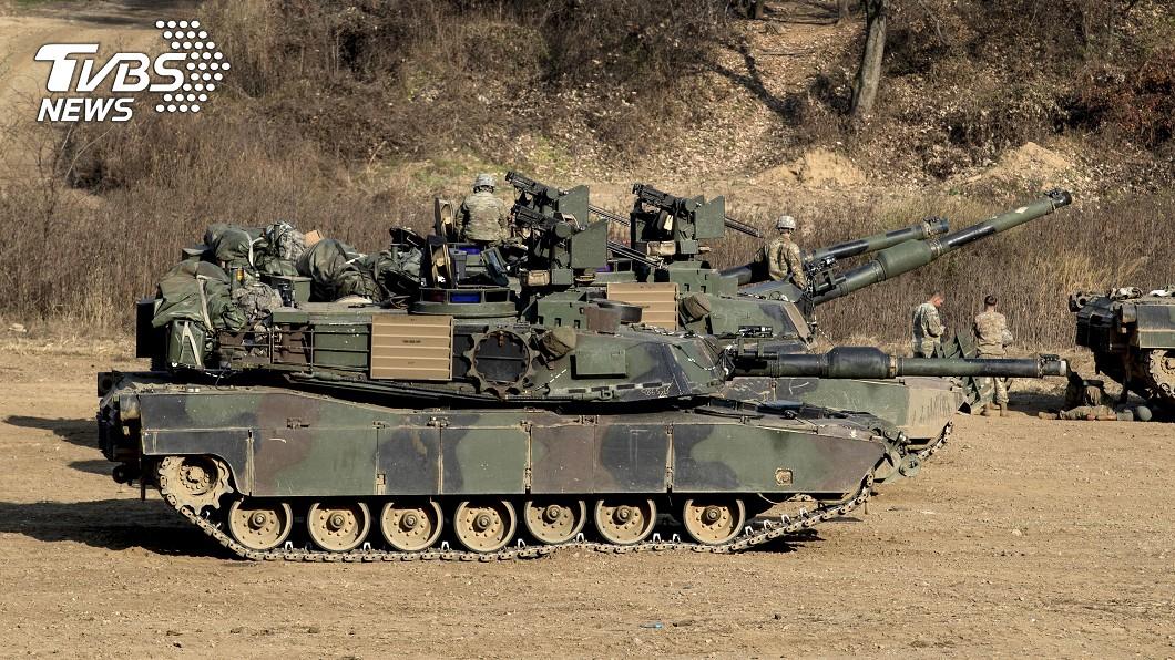 圖/達志影像美聯社 地表最強坦克!陸軍提升戰力 向美採購百輛M1A2