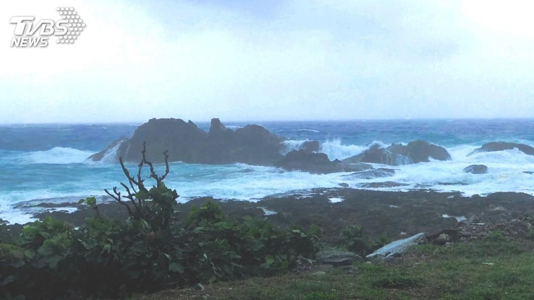圖/中央社 颱風瑪莉亞逼近 最快9日下午海警、10日陸警