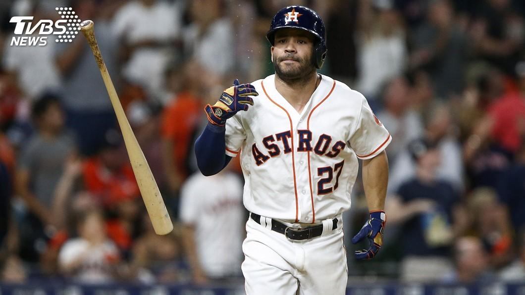 圖/達志影像路透社 MLB華府明星賽 小巨人阿圖維勇奪人氣王