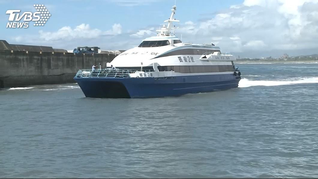 示意圖/TVBS 東北風影響風浪過大 今台東往返蘭嶼船班全取消