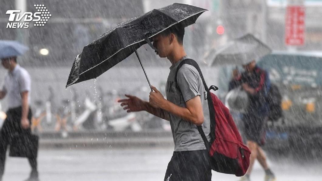 示意圖/TVBS 全台降雨再3天 颱風「白鹿」最快這天生成
