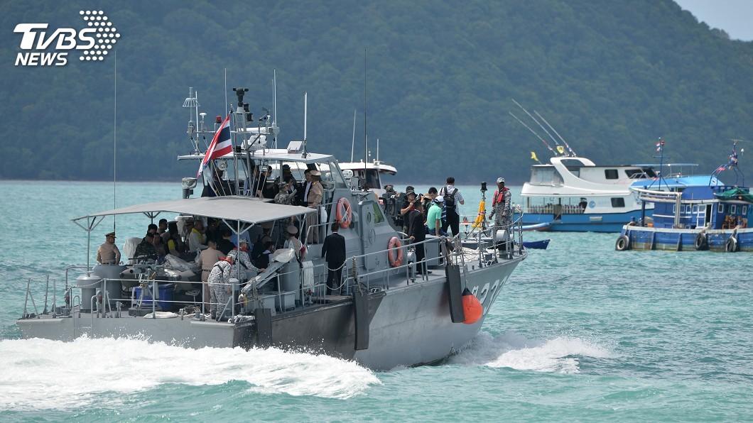 圖/達志影像路透社 普吉島船難 泰國控中國旅行社不守安全規定