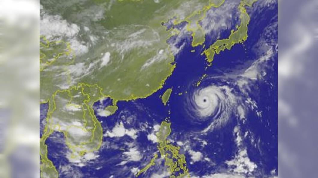 圖/中央氣象局 強颱瑪莉亞步步逼近 氣象局發布陸上颱風警報