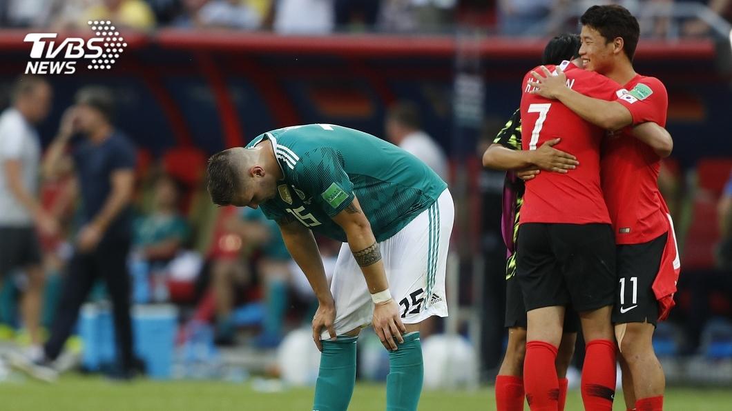 圖/達志影像美聯社(世足賽) 抓到了!德國慘輸韓國小組賽就遭淘汰真相曝光