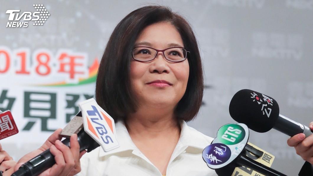 圖/中央社 傳接教長遭指不熟教育生態 管碧玲細數政績反駁