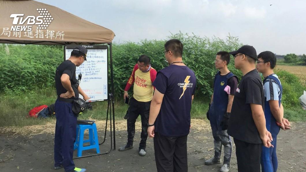 圖/中央社 少年落濁水溪失蹤 警消全力搜救