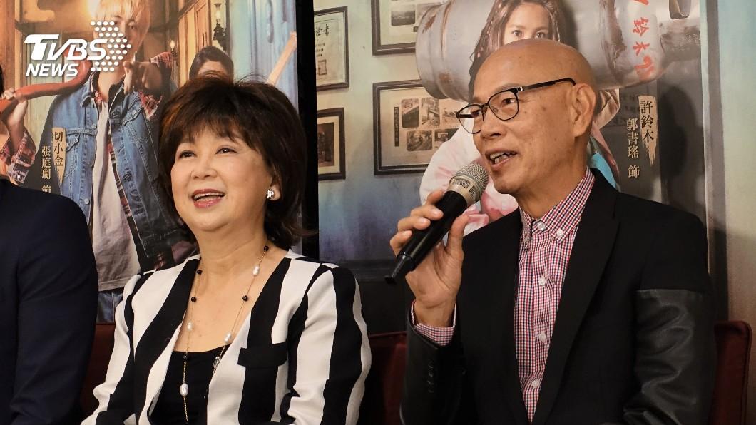 圖/中央社 羅家英來台愛上溫泉 朱咪咪讚台灣劇組豪華