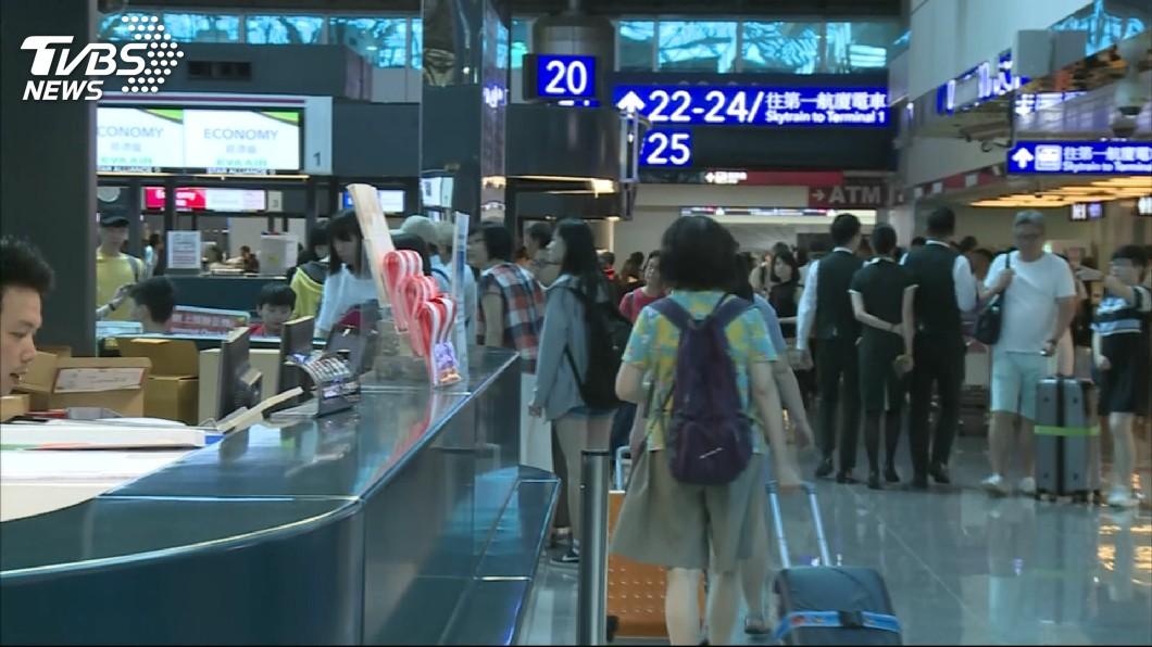 圖/TVBS 注意!刷卡買機票 登機報到沒帶「那張卡」直接重買