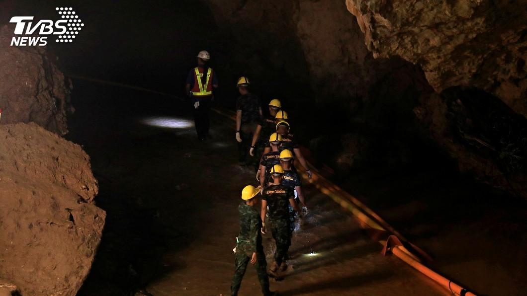 圖/達志影像路透社 不可能的任務成功! 救出受困泰國洞穴13人