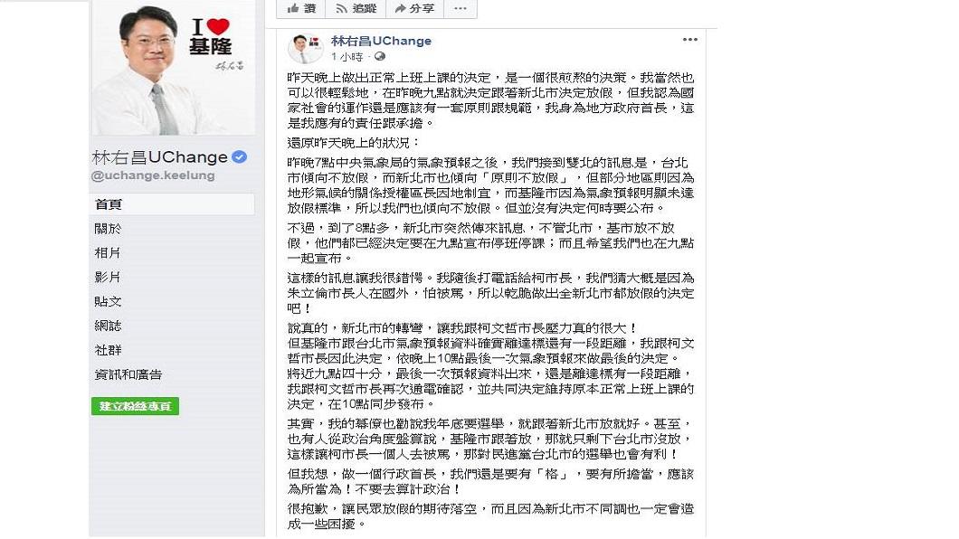 翻攝自/林右昌臉書