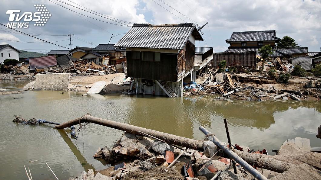 圖/達志影像路透社 日本30多年來最致命洪災 死亡人數升至179人
