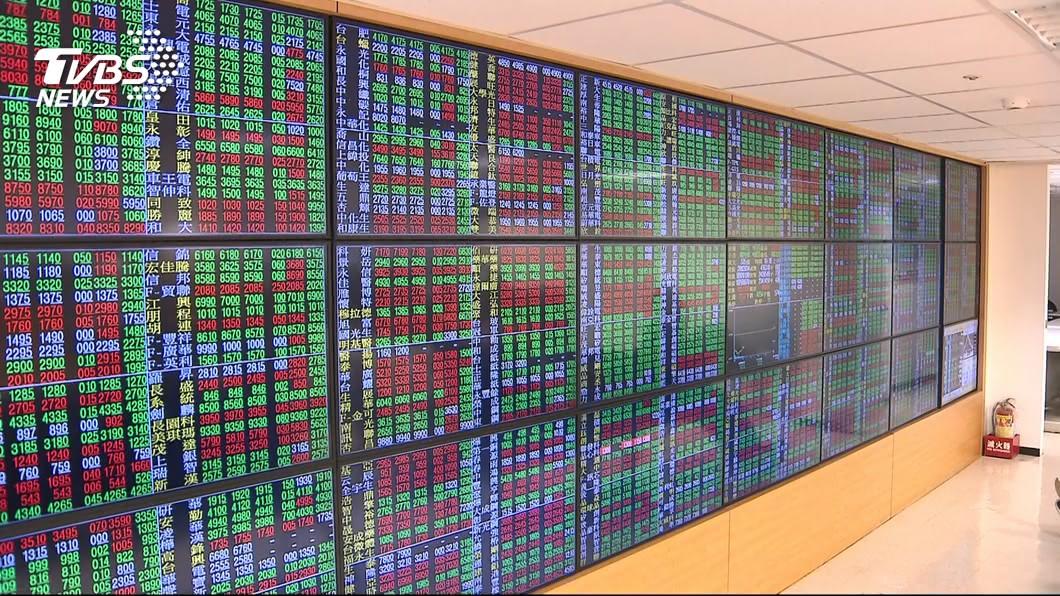 示意圖/TVBS 震盪收紅 台股站上10800點