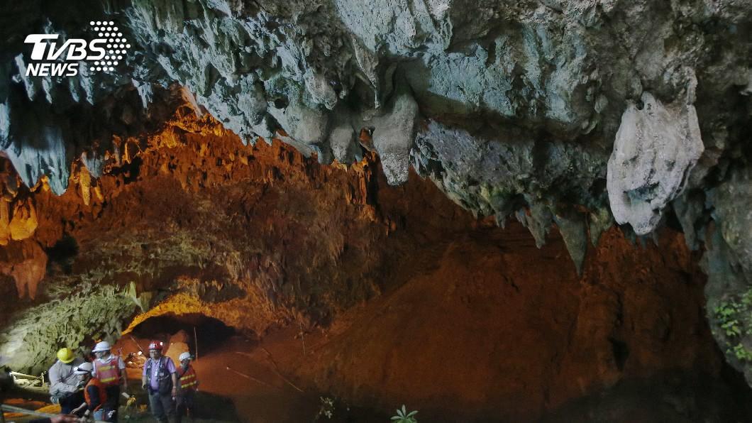 圖/達志影像美聯社 泰國洞穴救援行動過程 各類傳聞光怪陸離