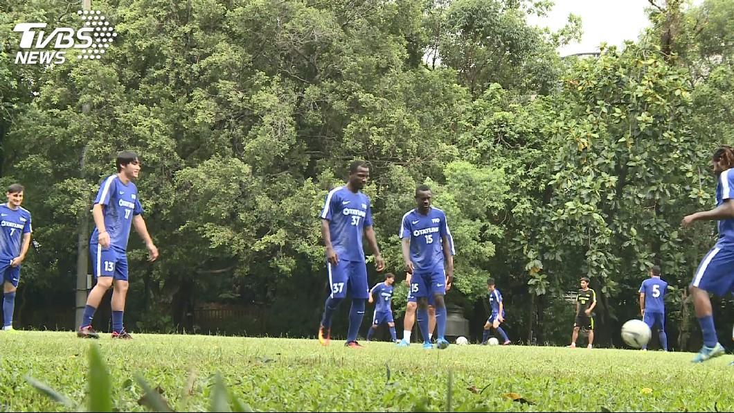 圖/TVBS 足球位置有學問! 守門員最高、前鋒最年輕