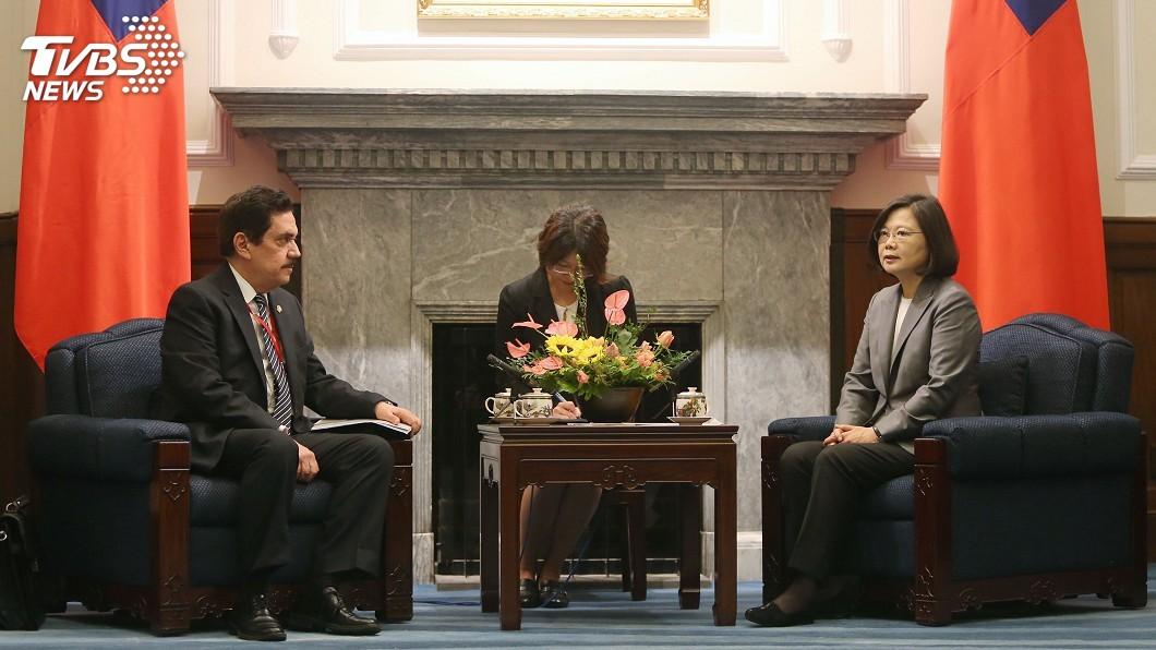 圖/中央社 蔡總統:台灣願為中美洲統合盡一份心力