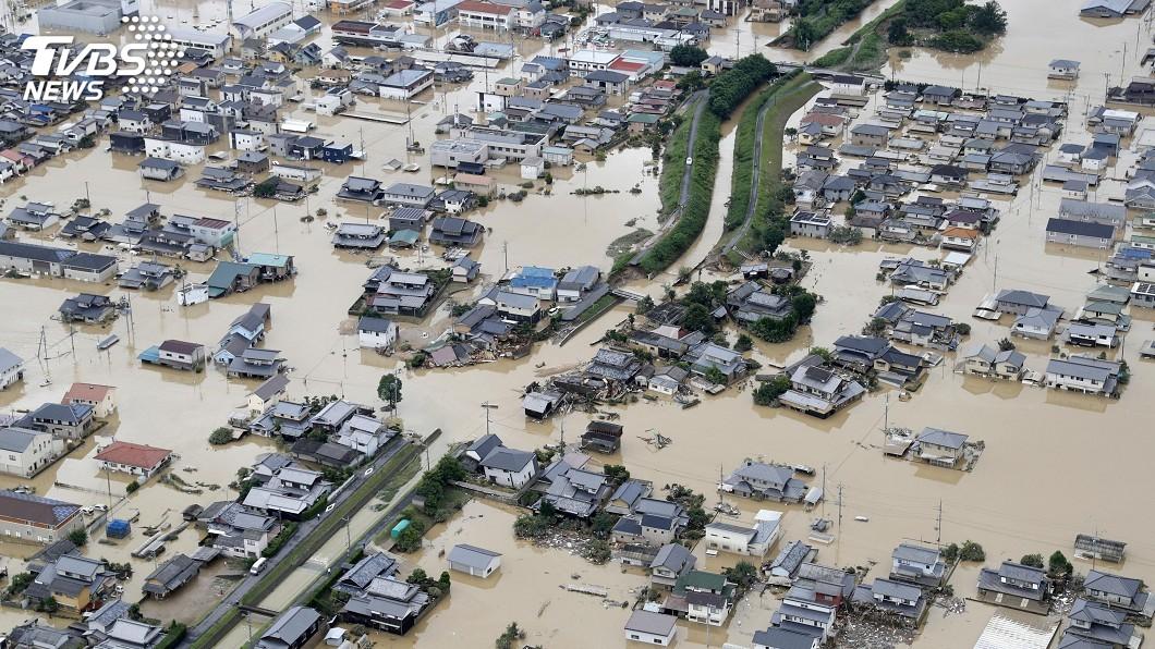 圖/達志影像路透社 暴雨成災奪走約200命 日本續尋數十失蹤者