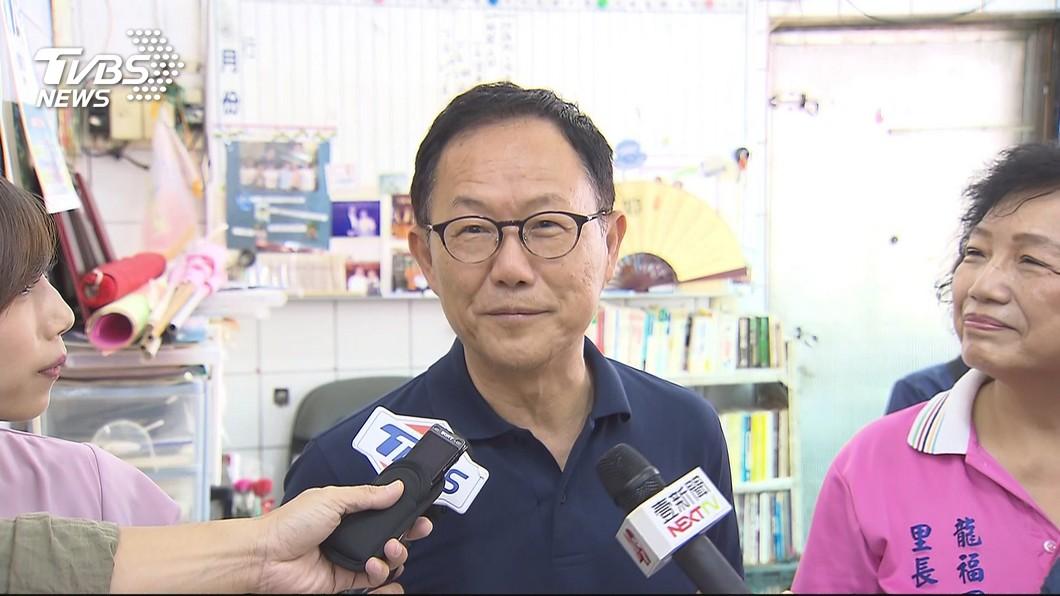 圖/TVBS 拜訪里長 丁守中:當選後補發重陽敬老金