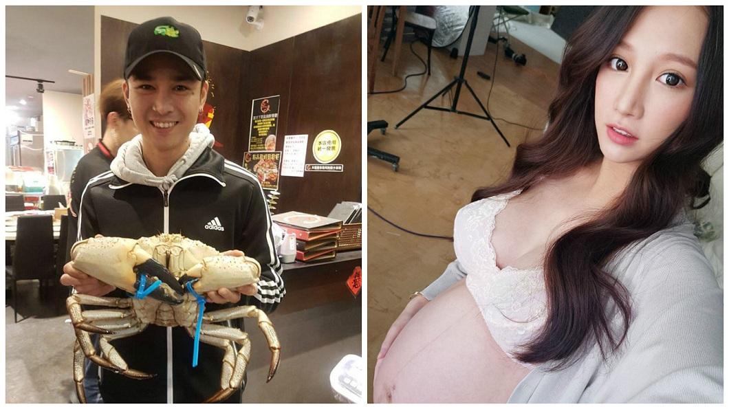 胡睿兒和林采緹今年5月才公證結婚。(圖/翻攝自林采緹臉書)