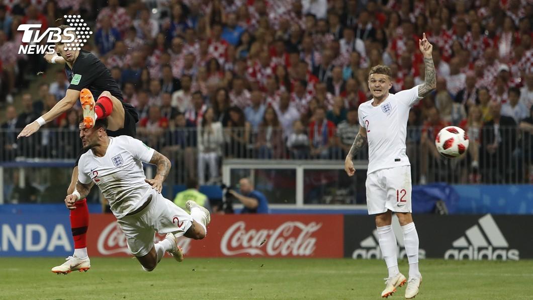 圖/達志影像美聯社 (世足賽) 延長賽常勝軍 克羅埃西亞踢進世足決賽