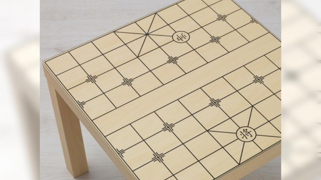 圖/翻攝自微博 IKEA推奇葩象棋桌 陸網友酸爆:誰設計的拉出去槍斃