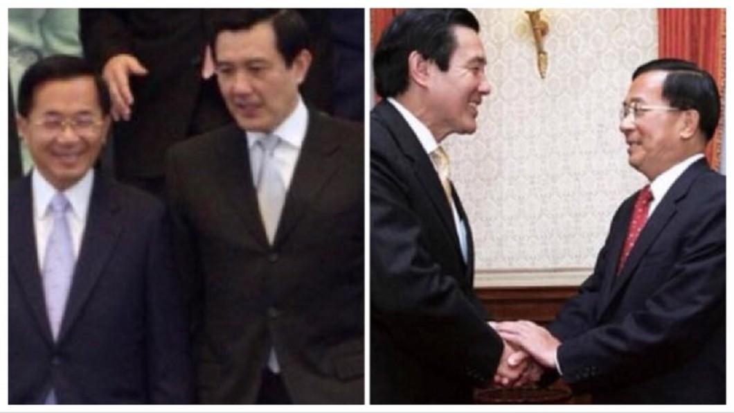 圖/翻攝自陳水扁新勇哥物語臉書 馬英九三中案遭起訴 扁提議辦「政治追殺」辯論會