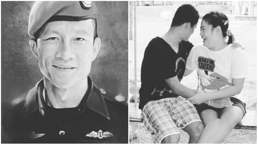 圖/翻攝自Valeepoan Kunan Instagram 泰救難英雄犧牲喪命 遺孀盼少年們:別自責