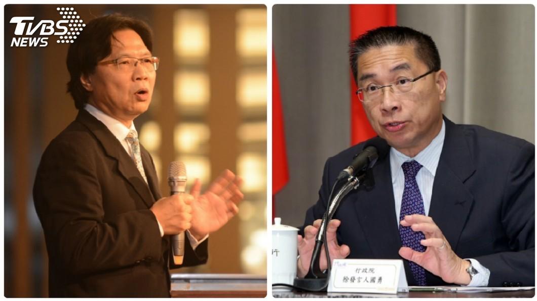 圖/中央社 內政部16日交接 徐國勇、葉俊榮12日已會談