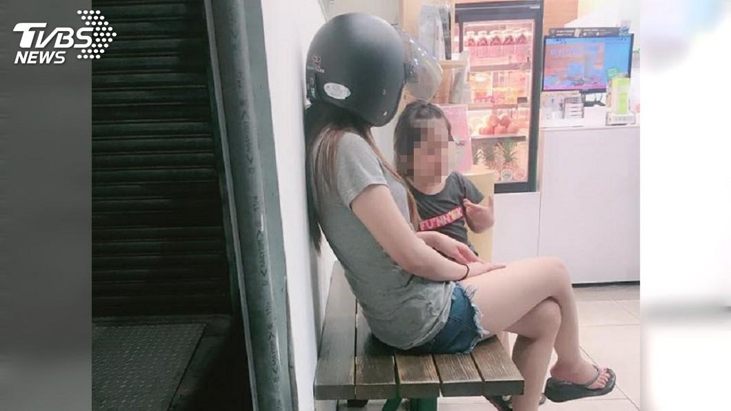 圖/胡姓網友 授權提供 女兒「神助攻」搭訕女客人 單親爸14天宣告死會