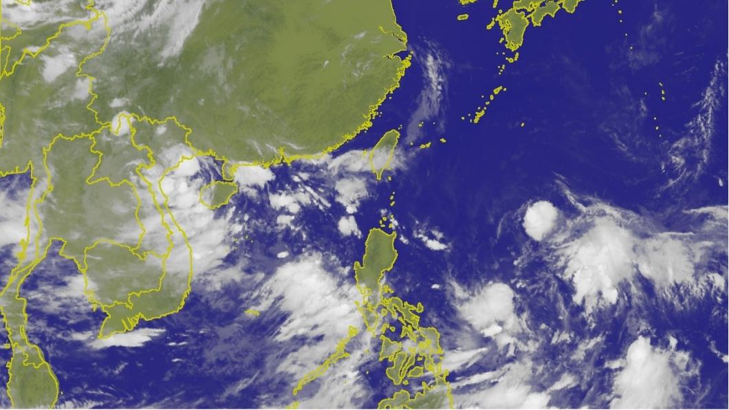 關島附近的熱帶性低氣壓,最快明天就會成為第9號颱風「山神」。圖/中央氣象局 48小時內恐生雙颱! 9號颱風「山神」最快明形成