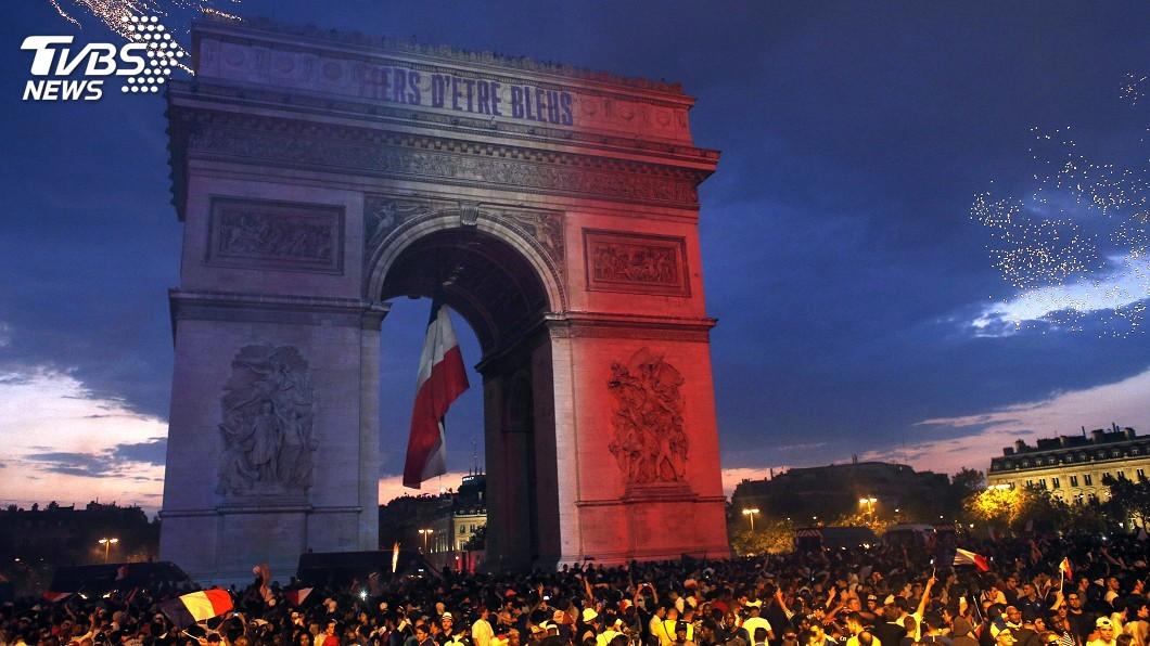 圖/達志影像美聯社 (世足賽) 法國奪世足金盃 慶祝活動紛傳意外
