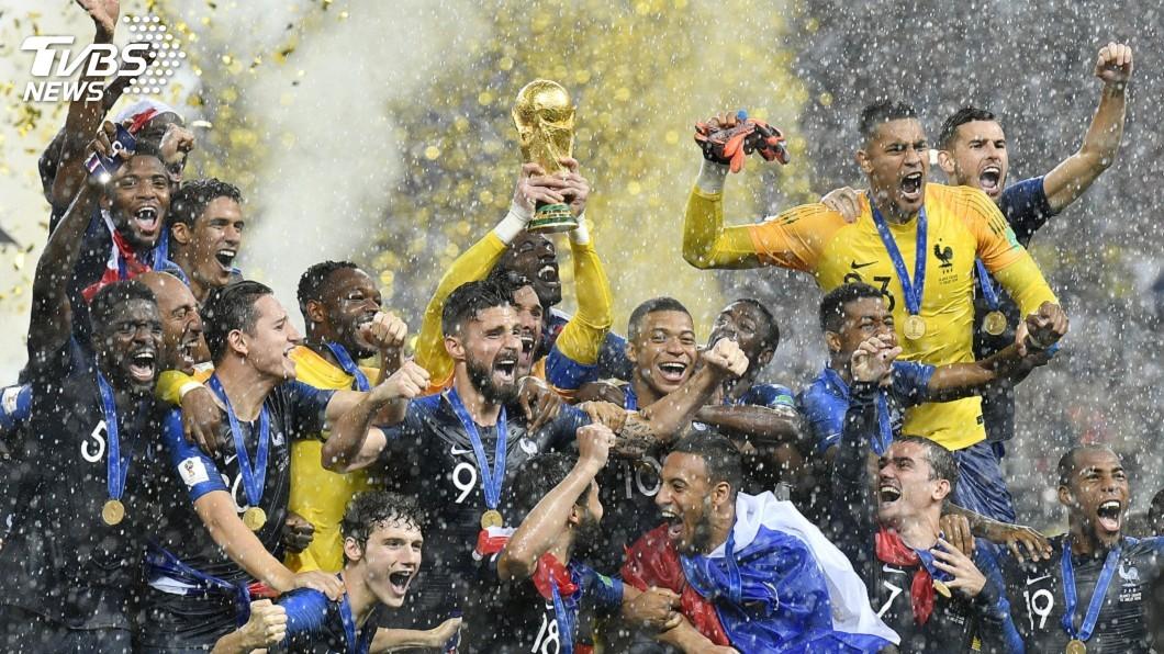 圖/達志影像美聯社 (世足賽) 法國世界盃奪冠 中國贊助商依約向消費者退款