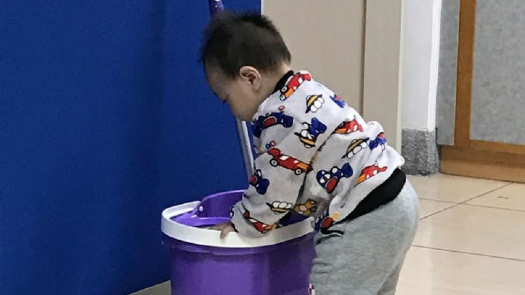 圖/翻攝兒福聯盟文教基金會網站 50元便當分2餐!單親媽苦養遲緩兒:自己餓一點沒關係