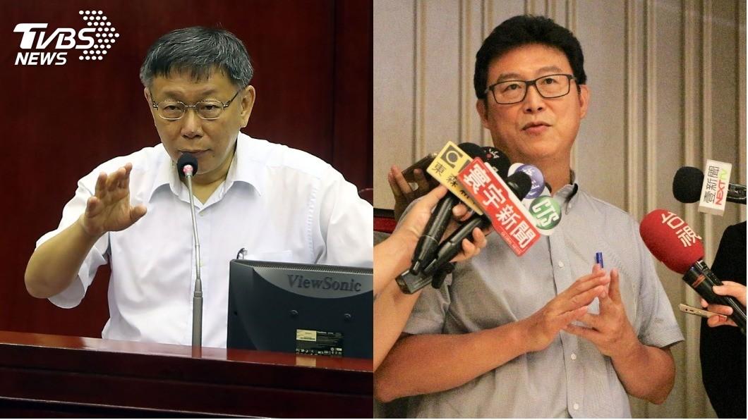 圖/中央社 為選舉拿政策買票 姚文智批:柯文哲不斷在操作藍綠