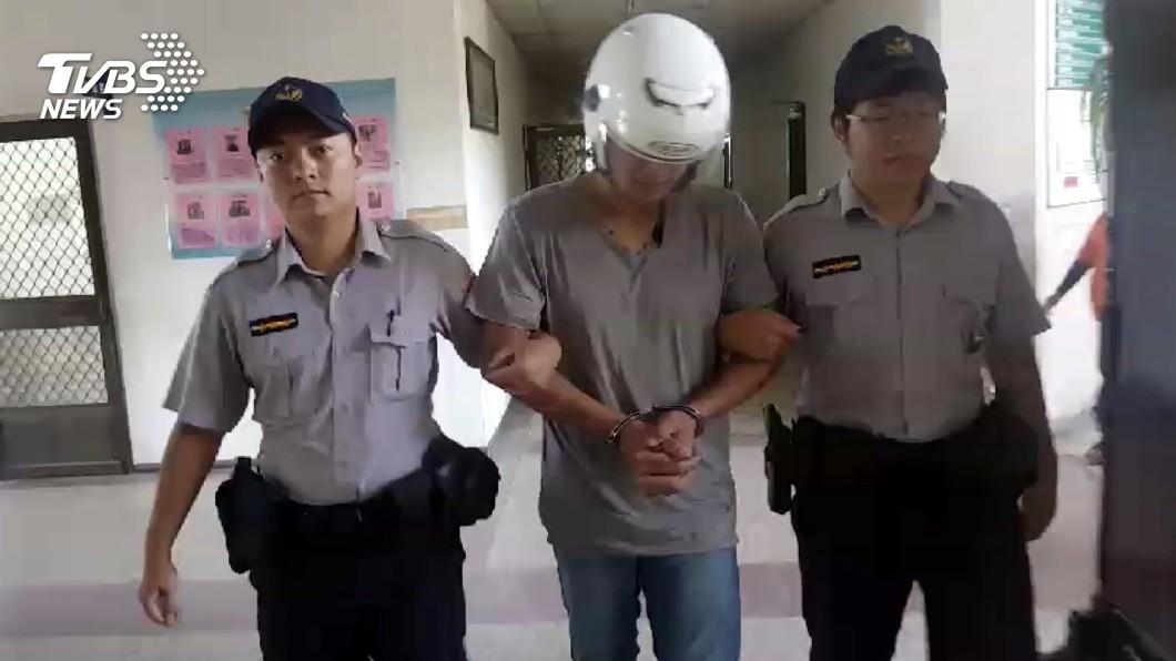圖/中央社 男涉持槍搶精品店 警3小時內逮人