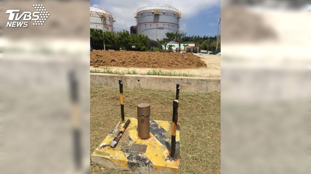 圖/中央社 中油漏油隱匿不報 居民不滿要求油庫遷移