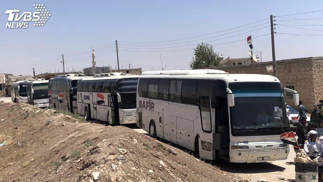 圖/達志影像美聯社 俄、土達協議 親政府軍民撤出敘利亞圍城